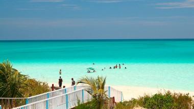 Playa de la cayería norte de Cuba