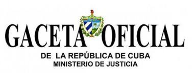Gaceta Oficial de la República de Cuba