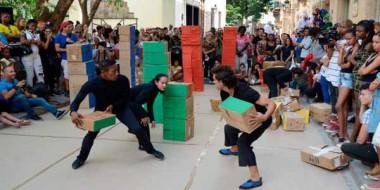 Festival de Danza en Paisajes Urbanos Habana Vieja: Ciudad en movimiento