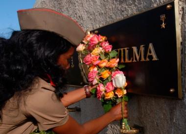 Homenaje a Vilma Espín en Segundo Frente