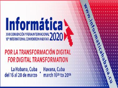 XVIII edición de la Convención y Feria Internacional Informática 2020,