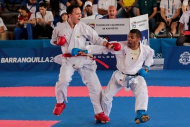 Karateca cubano Chapman logró oro panamericano en +84 kilogramos