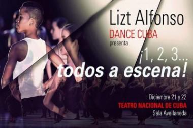Lizt Alfonso convoca: 1, 2, 3... ¡todos a escena!