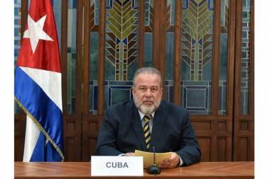primer ministro de Cuba, Manuel Marrero