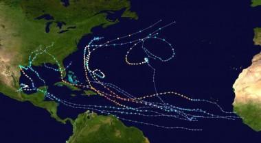 Mapa ciclones 2017