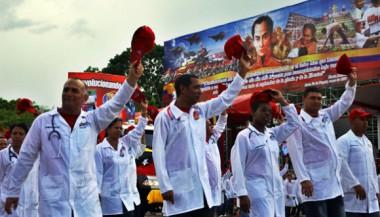 Médicos cubanos en Venezuela