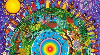 Imagen alegórica a la unión de los pueblos