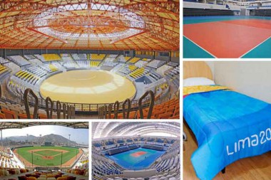 Escenarios de los Juegos Panamericanos Lima 2019