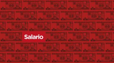 Banner alegórico a la reforma salarial