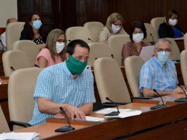 Reunión gubernamental donde diariamente se analiza la situación del nuevo coronavirus en Cuba