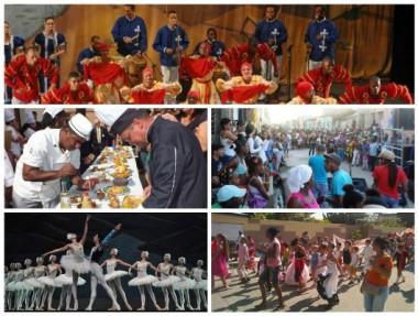 Imágenes alegóricas a la cultura cubana