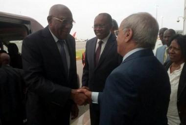 Salvador Valdés Mesa realiza visita a Angola y Namibia