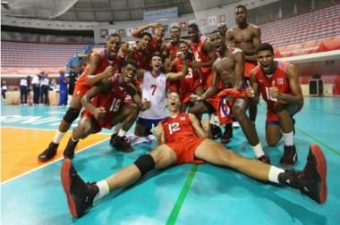Voleibolistas cubanos