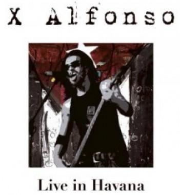 Portada de Live in Havana, nuevo disco del músico X Alfonso.