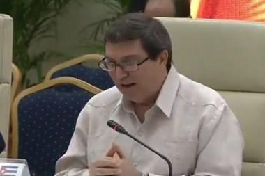 Canciller: Cuba continuará su desarrollo pese a bloqueo de EE.UU.