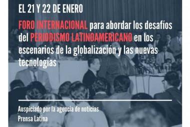 foro internacional en Cuba sobre retos de periodismo