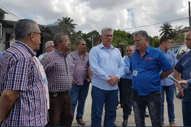 Evaluó Díaz- Canel marcha de programas socioeconómicos en capital cubana