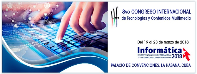 Convocatoria al 8vo Congreso Internacional de Tecnologías y Contenidos Multimedia